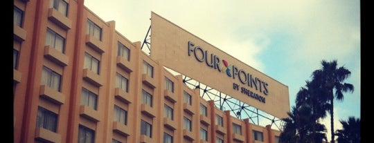 Four Points by Sheraton Los Angeles International Airport is one of Favorite Places in LA.