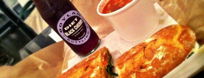 City Sandwich is one of Earl of Sandwich 10X (NY).