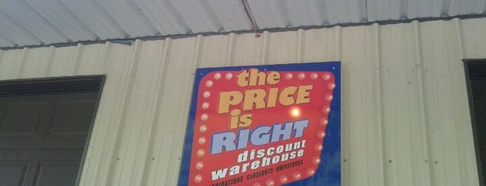 The Price Is Right is one of Weaverville Favorites.