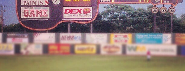 Herschel Greer Stadium is one of Arthur's Favorite Stadium and Game Places!.