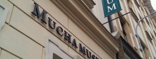 Mucha Museum is one of StorefrontSticker #4sqCities: Prague.