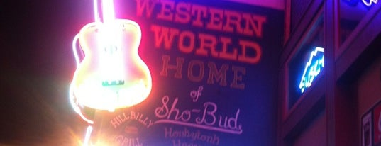 Robert's Western World is one of Drinks.