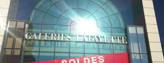 Galeries Lafayettes is one of Avignon adresses.