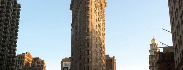 Flatiron Building is one of NYC Basic List.