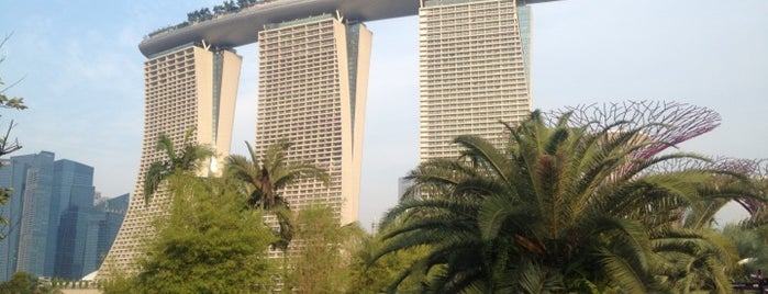 Marina Bay Sands Hotel is one of Singapore/シンガポール.