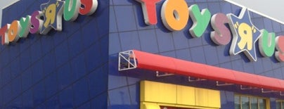 """Toys """"R"""" Us is one of Ny."""