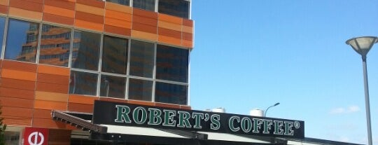 Robert's Coffee is one of Tempat yang Disukai F.A.S.