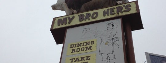 My Brother's Bar-B-Q is one of BBQ in LA.