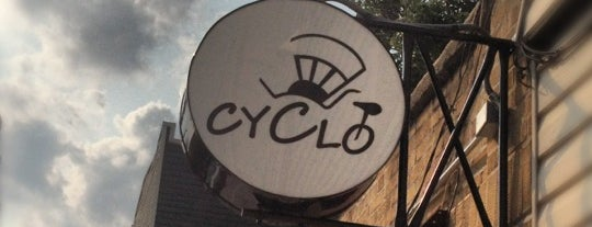 Cyclo is one of Long Island City.