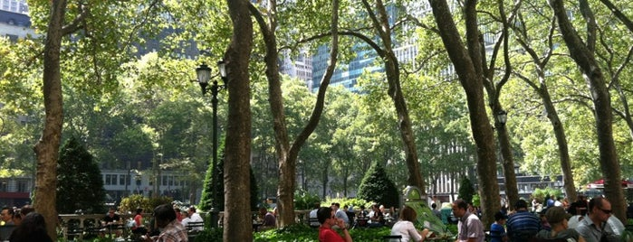 Bryant Park is one of Guide to New York's best spots.