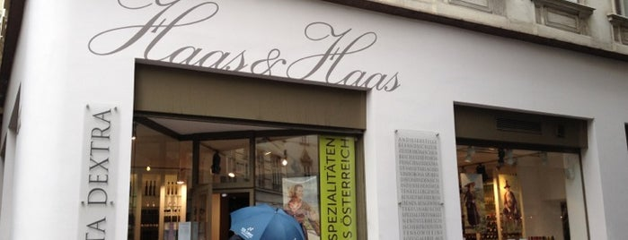 Haas & Haas Teehaus is one of Vienna restaurants.