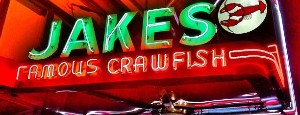 Jake's Famous Crawfish is one of Pacific Old-timey Bars, Cafes, & Restaurants.