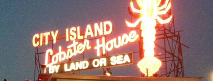City Island Lobster House is one of Outdoor.