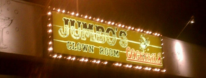 Jumbo's Clown Room is one of Friends' Suggestions.