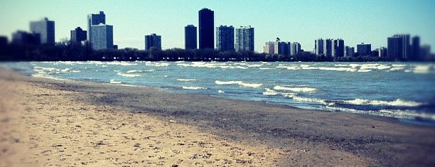 Montrose Beach is one of Tempat yang Disukai Chris.