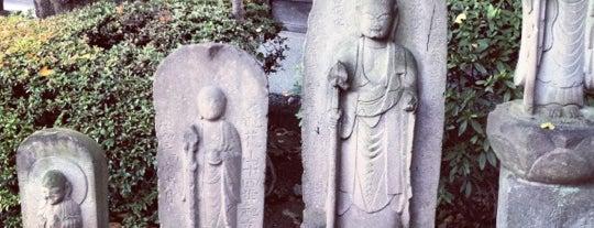 永安寺 is one of せたがや百景 100 famous views of Setagaya.