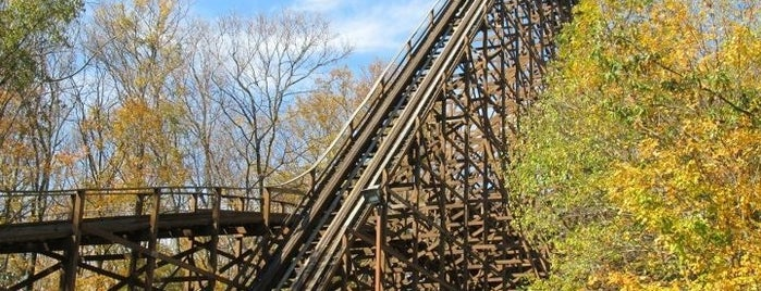 The Beast is one of Gold Standards Among Roller Coasters.