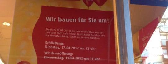 REWE City is one of Berlin.