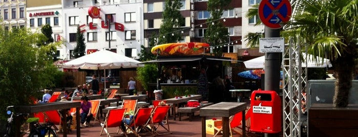 Spielbudenplatz is one of StorefrontSticker #4sqCities: Hamburg.