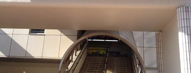 Enshubyoin Station is one of 登下校の道.