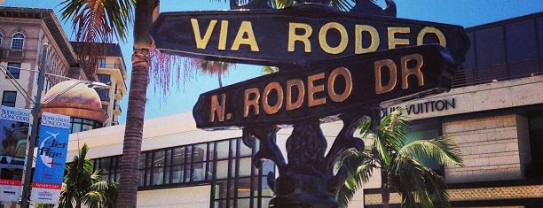 Via Rodeo is one of Los Angeles.
