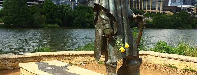 Stevie Ray Vaughan Statue is one of Must Visit - Austin.