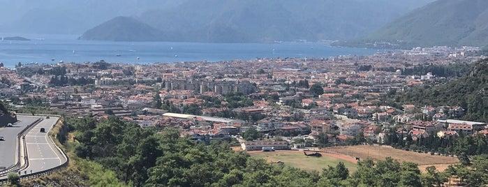 Marmaris Seyir Noktası is one of Gezilecek yerler.