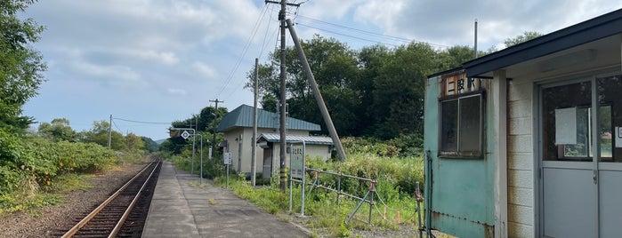 二股駅 is one of JR 홋카이도역 (JR 北海道地方の駅).