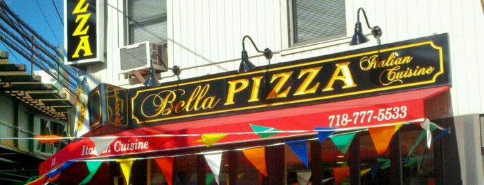 Bella Pizza is one of To Do.