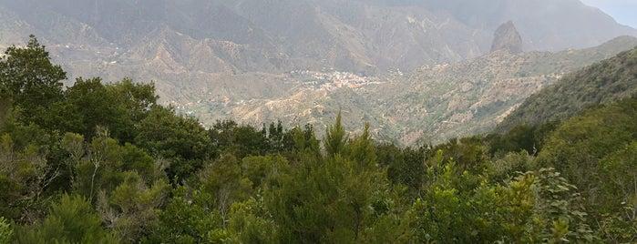 Mirador de Vallehermoso is one of La Gomera, Spain.