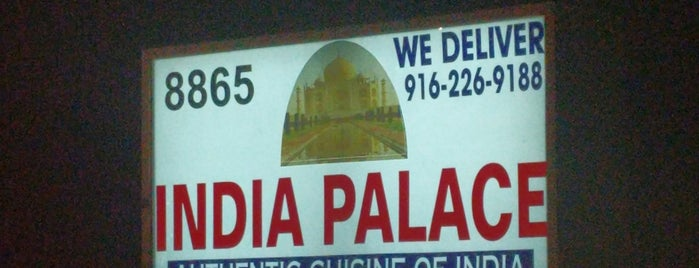 India Palace is one of Tempat yang Disukai Russell.
