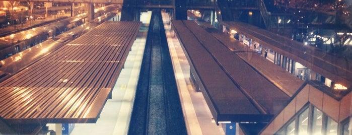 Croton Harmon Train Station - Metro North + Amtrak is one of Upstate.