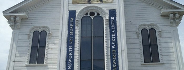 Farnsworth Art Museum is one of Maine.