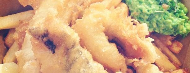 The Sunken Chip is one of Où manger les meilleures frites de Paris ?.