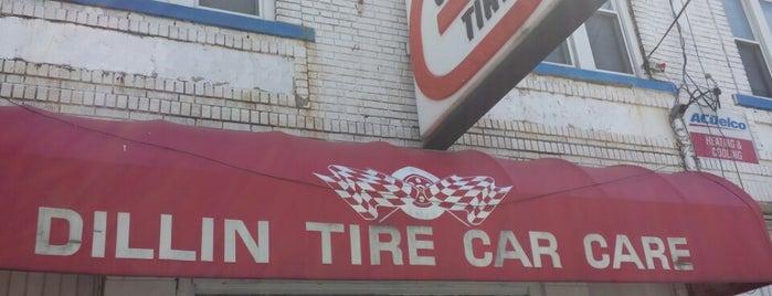 Dillin Tire Care is one of Posti che sono piaciuti a Rick.