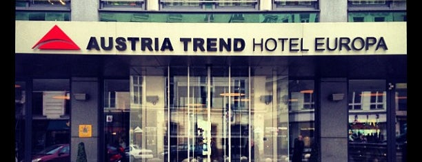 Austria Trend Hotel Europa is one of Orte, die Pelin gefallen.