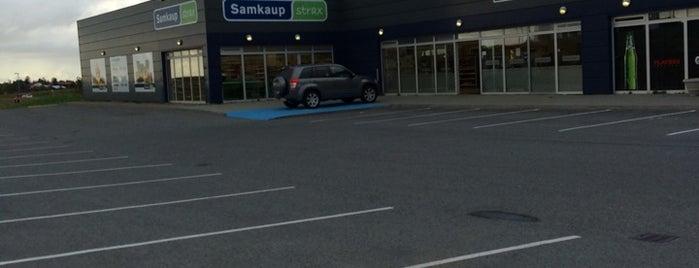 Samkaup Strax is one of Iceland.
