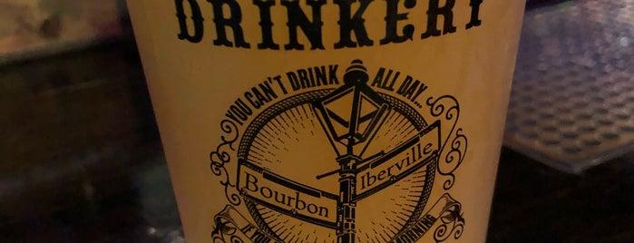 Bourbon Street Drinkery is one of NOLA.
