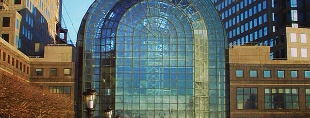 Brookfield Place (BFPL) is one of 1000 Places to See Before You Die.