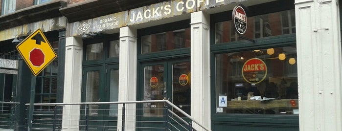 Jack's Stir Brew Coffee is one of FiDi Coffee.
