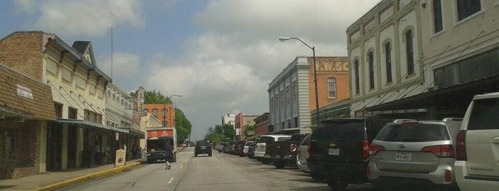 Brenham, TX is one of Lieux qui ont plu à Rita.