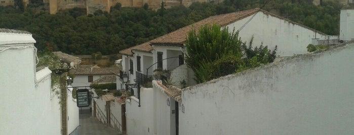 Albaicín is one of Granada.