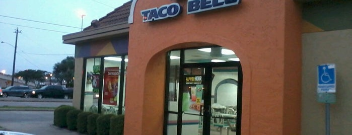 Taco Bell is one of Tellie's Liked Places.