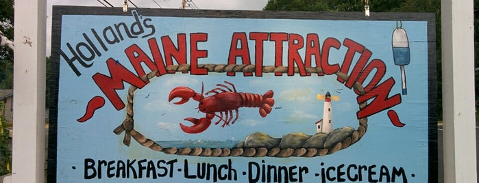 maine attraction is one of สถานที่ที่ Gail ถูกใจ.
