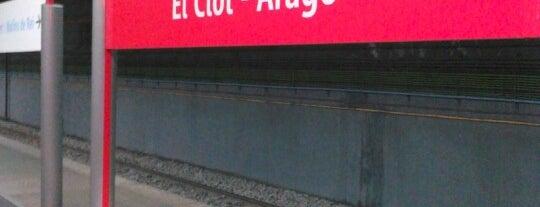 RENFE El Clot-Aragó is one of Orte, die Caótica gefallen.