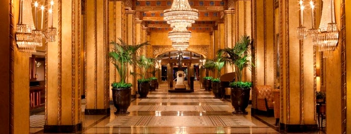 Waldorf Astoria Hotel The Roosevelt New Orleans is one of NOLA Must Visits.