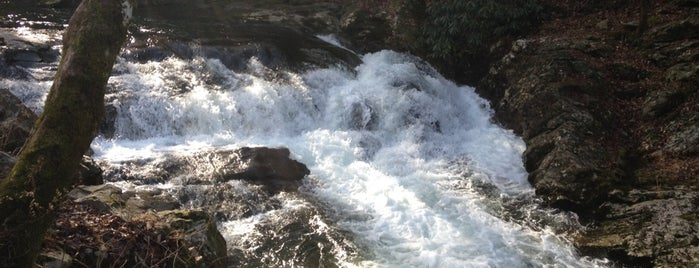 The Sinks Falls is one of Gatlinburg, TN.