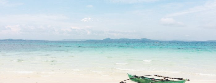 Naked Island is one of Siargao.