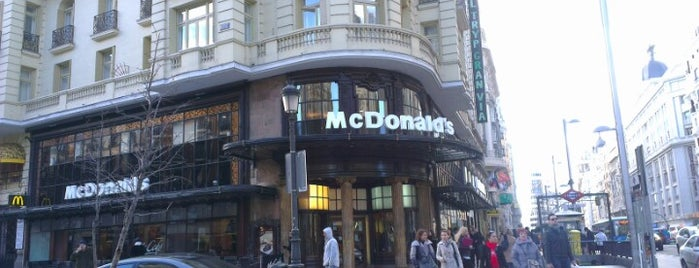 McDonald's is one of All American Life in Madrid.