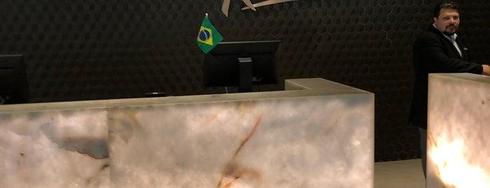 Radisson Hotel Rio de Janeiro Barra is one of Tempat yang Disukai Allan.